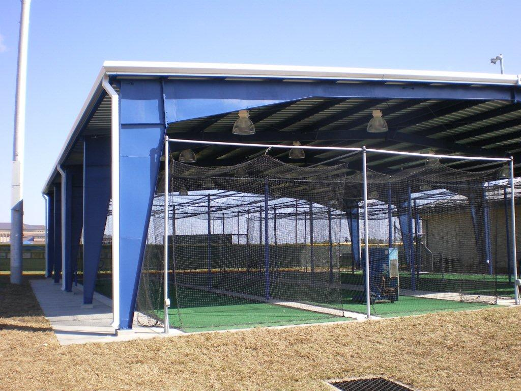 Charlotte County High School Batting Cage Better Buildings Inc