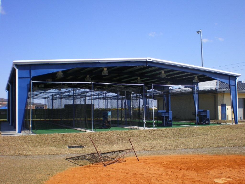 Charlotte County High School Batting Cage Better